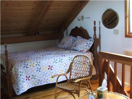 Plymouth, Manomet MA vacation rental - Loft Bedroom, queen bed with ocean,  sunrise, & moonlite views