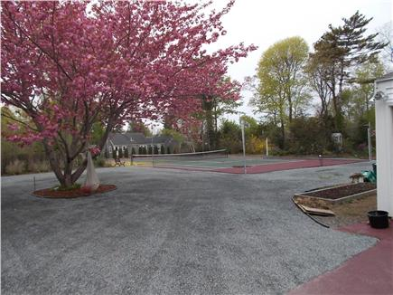 Hyannis, Barnstable Cape Cod vacation rental - Parking for 6 + tennis court