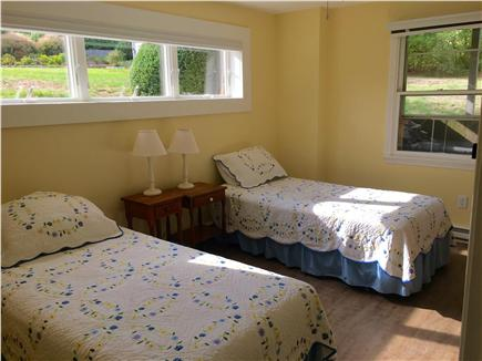 Orleans Cape Cod vacation rental - Downstairs garden view bedroom