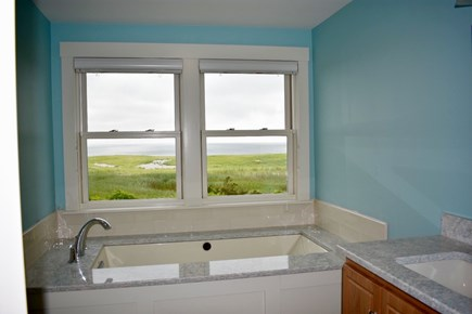 Orleans Cape Cod vacation rental - Ocean view heated soaking tub with champagne bubbles
