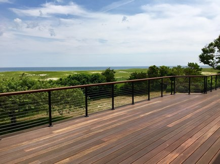 Orleans Cape Cod vacation rental - Brand new wrap around deck with ocean view