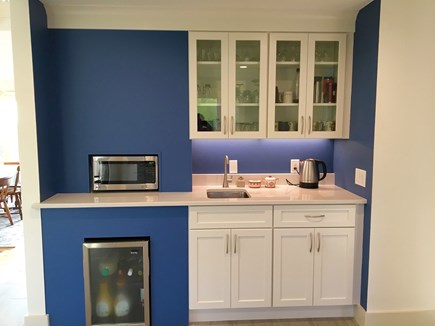 Orleans Cape Cod vacation rental - Beverage bar with cold filtered water and mini fridge