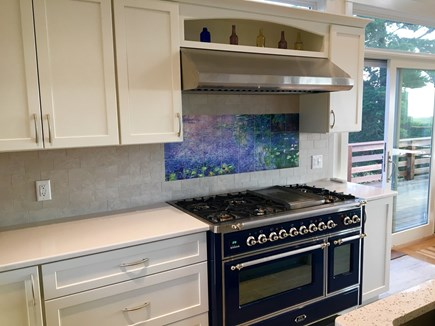 Orleans Cape Cod vacation rental - Italian Stove in brand new gourmet kitchen