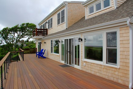 Orleans Cape Cod vacation rental - Deck is wonderful for outdoor meals and evening relaxation.