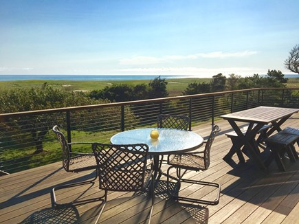 Orleans Cape Cod vacation rental - Wrap Around Deck with Expansive Ocean Views