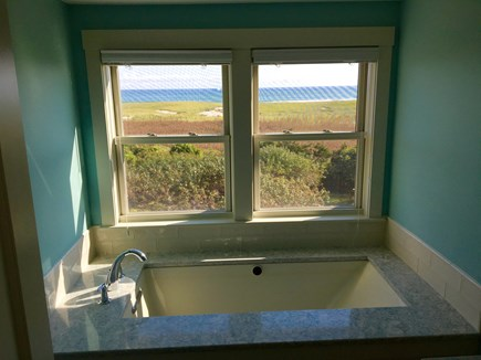 Orleans Cape Cod vacation rental - Heated Soaking Tub with Champagne Bubbles and Ocean View