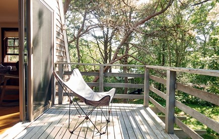 South Wellfleet Cape Cod vacation rental - Master Bedroom Deck