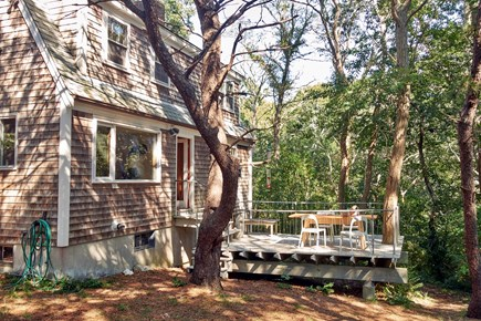 South Wellfleet Cape Cod vacation rental - First Floor Deck