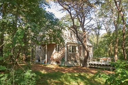South Wellfleet Cape Cod vacation rental - House and First Floor Deck