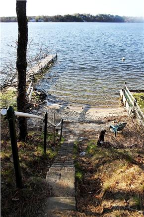 Harwich, Pleasant Lake Cape Cod vacation rental - Easy Walk To This Deeded Lake Beach.