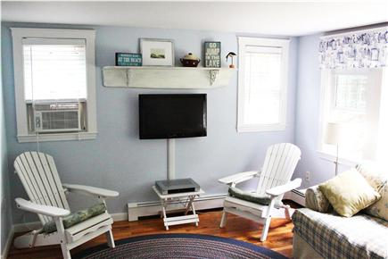 Harwich, Pleasant Lake Cape Cod vacation rental - Light Pours In Through New Living Room Windows.