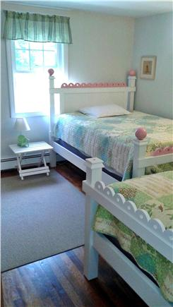 Harwich, Pleasant Lake Cape Cod vacation rental - Third bedroom with 1 full and 1 twin.