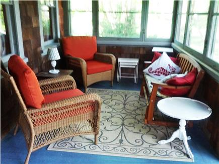 Dennis Cape Cod vacation rental - Porch sitting area - right hand side