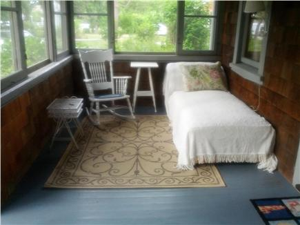 Dennis Cape Cod vacation rental - Porch left hand side