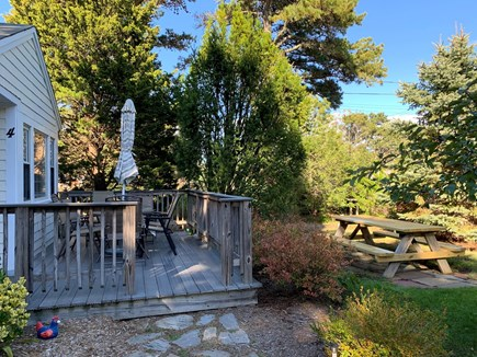 Eastham Cape Cod vacation rental - Front Porch, Garden and Picnic Table