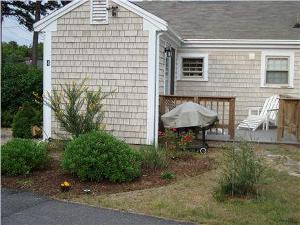 Eastham Cape Cod vacation rental - Back porch and grill