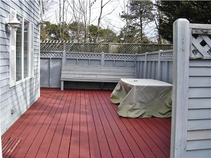 Centerville Centerville vacation rental - Deck