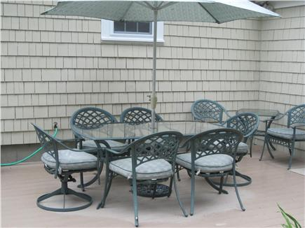 Dennis Cape Cod vacation rental - Deck with patio furniture