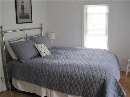 Dennis Cape Cod vacation rental - Master bedroom with queen bed and half bath