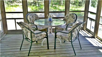 Wellfleet Cape Cod vacation rental - Dine out on the screened porch