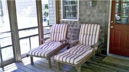 Wellfleet Cape Cod vacation rental - Porch