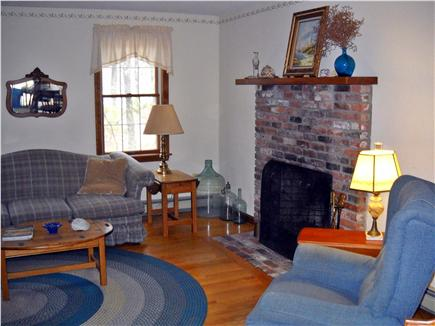 Wellfleet Cape Cod vacation rental - Fireplace