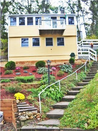 Mashpee Cape Cod vacation rental - View of the house from the street