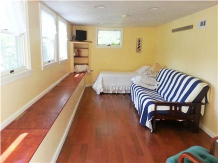 Mashpee Cape Cod vacation rental - finished(walkout) basement with futon and twin bed