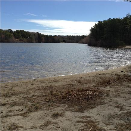 Harwich Cape Cod vacation rental - Relax At Sandy fresh water beach 1/2 mile away