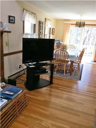 Harwich Cape Cod vacation rental - Open living Room and dining area
