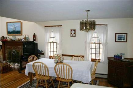 Harwich Cape Cod vacation rental - Dining Room seats 8 comfortabky