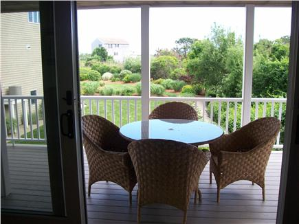 West Yarmouth Cape Cod vacation rental - Covered Porch off living room