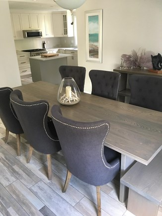 West Yarmouth Cape Cod vacation rental - Dining room with seating for 8