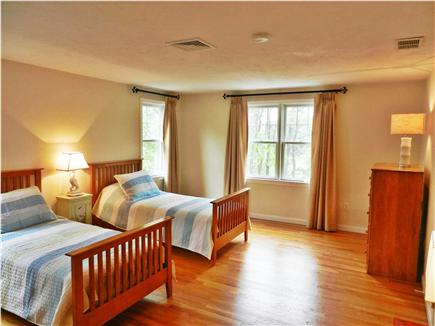 Wellfleet Cape Cod vacation rental - First Bedroom Upstairs - Twin Beds ...may convert to King