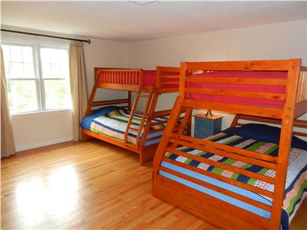 Wellfleet Cape Cod vacation rental - Second Bedroom Upstairs - Full Bed on Bottom, Twin Bed on Top