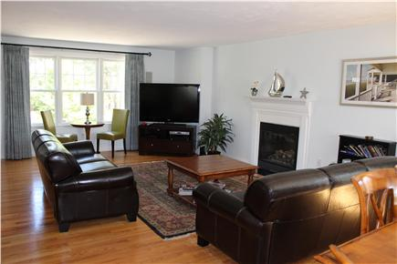Wellfleet Cape Cod vacation rental - Open layout - living room and dining room