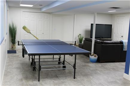 Wellfleet Cape Cod vacation rental - Game Room - Basement Level - walk out to patio