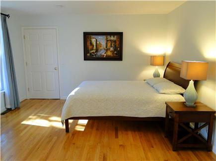 Wellfleet Cape Cod vacation rental - Main floor queen bedroom with private bath