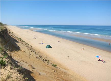 Wellfleet Cape Cod vacation rental - Travel 2 miles into the National Seashore at Marconi Beach