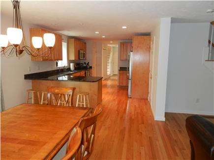 Wellfleet Cape Cod vacation rental - Open dining area and kitchen