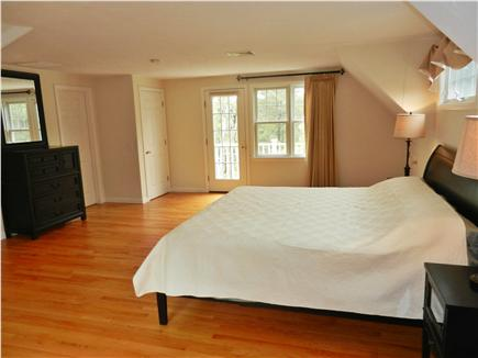 Wellfleet Cape Cod vacation rental - Master Bedroom accessed by separate stairs - King Bed