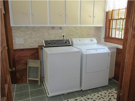 Brewster, The Highlands on Seymours Pond Cape Cod vacation rental - Laundry Room