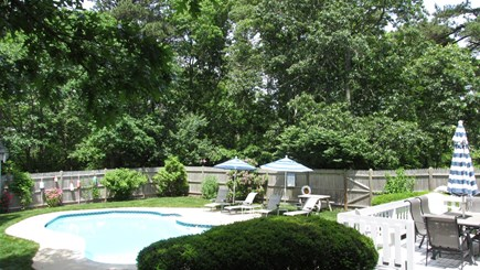 Brewster, The Highlands on Seymours Pond Cape Cod vacation rental - Backyard