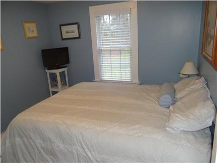South Yarmouth Cape Cod vacation rental - Bedroom #1 - new queen mattress w/dresser/night stand tv & closet