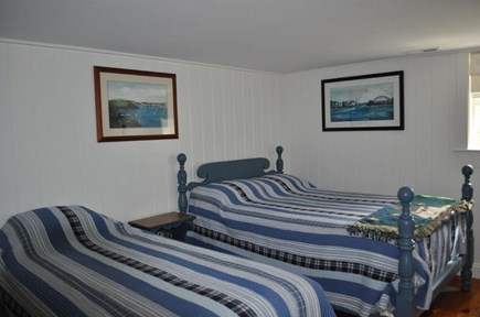 Brewster Cape Cod vacation rental - Bedroom 2 with full size and twin