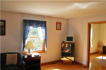 Truro Cape Cod vacation rental - Living Room looking at Dining Room