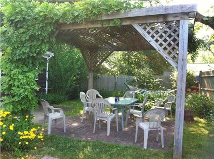 West Yarmouth Cape Cod vacation rental - Private Back Yard with Outdoor Shower