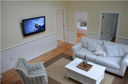 South Yarmouth Cape Cod vacation rental - Family room with flat screen TV
