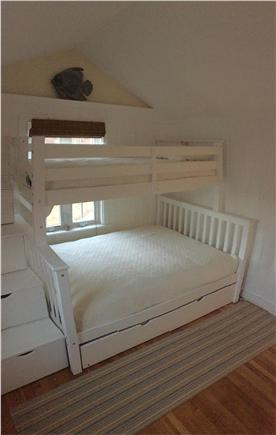 South Yarmouth Cape Cod vacation rental - Full size bed with twin bunk & trundle twin (room sleeps 4)