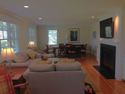 Orleans Cape Cod vacation rental - Another Look at Lovely Living Area Toward More Formal Dining Area